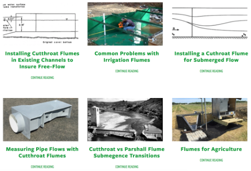 thumbnail of blog search results for Cutthroat Flumes