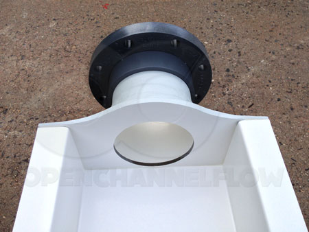0.5' H-Flume Inlet Bulkhead with Van Stone Flange