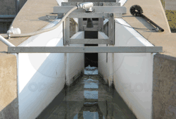 Nested Parshall Flumes