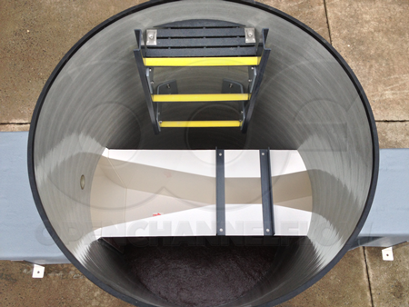 Fiberglass Manholes Integrating Parshall Flumes