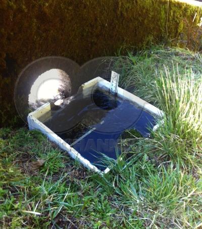 dam seepage weir box