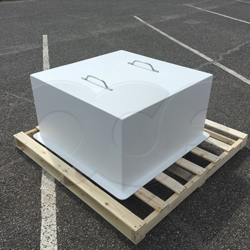 custom drop-over insulated enclosure for pump protection