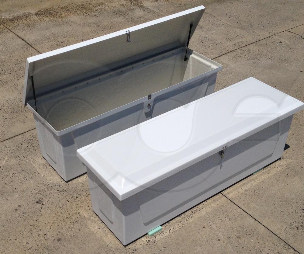 Redstone fiberglass equipment enclosures