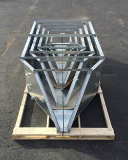 Multiple sizes of Galvanized Steel H Flumes from Openchannelflow