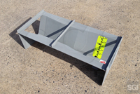 galvanized steel Trapezoidal flume with staff gauge