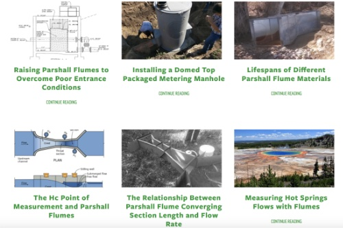 thumbnail of blog search results for Parshall Flumes
