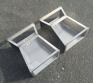 Openchannelflow stainless steel construction Cutthroat flumes