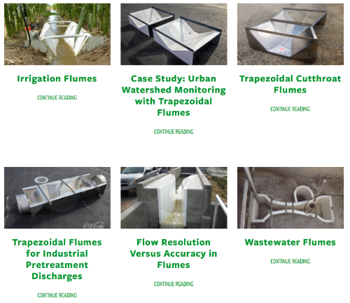 thumbnail of blog search results for Trapezoidal Flumes