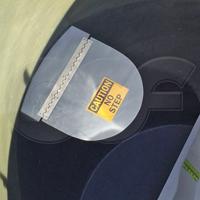 fold-up equipment shelf in an Openchannelflow fiberglass flume manhole