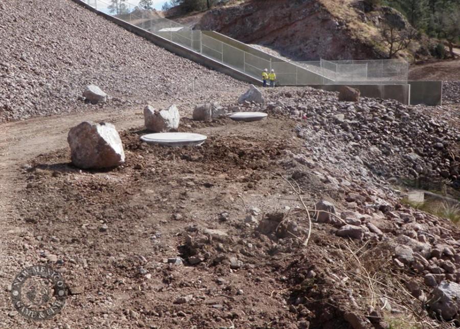 dam seepage monitoring manholes