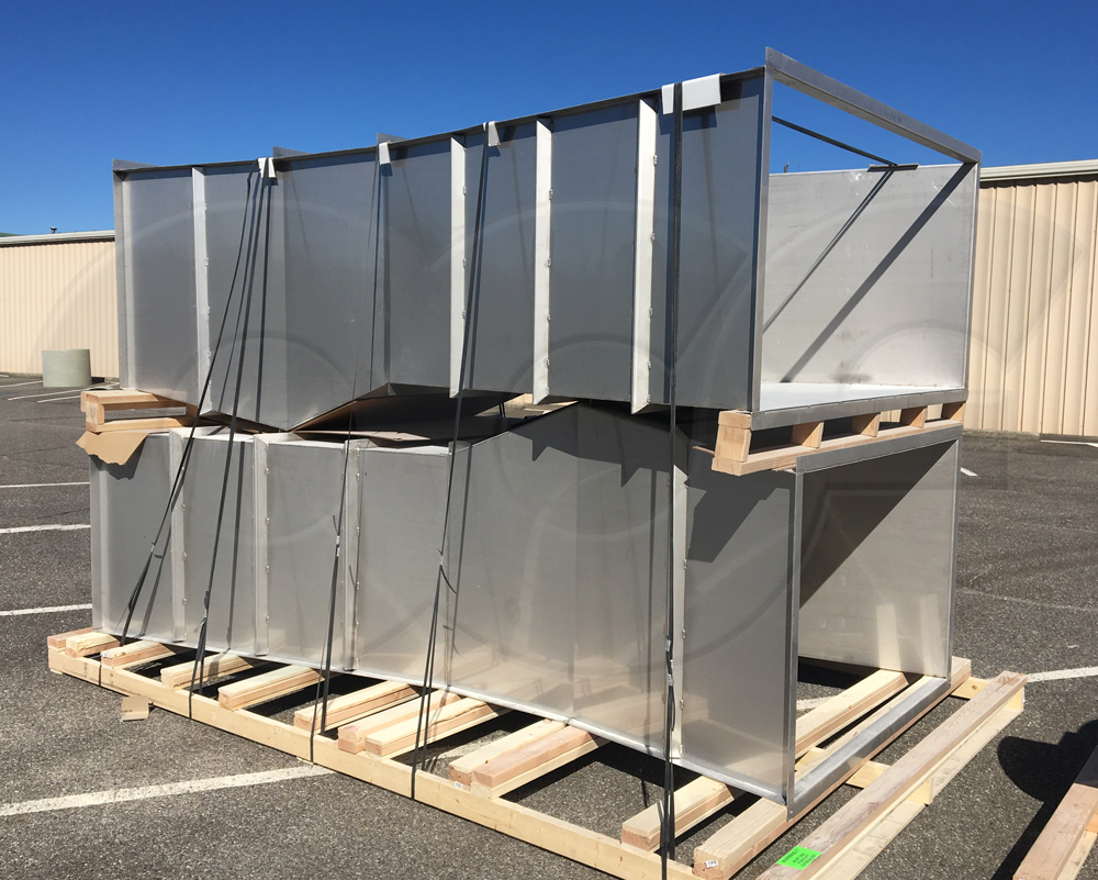 Stainless steel inch parshall flumes