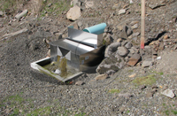 Openchannelflow stainless steel dam seepage weir box