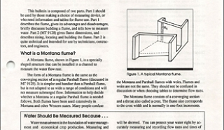 Image for What is a Montana Flume? article
