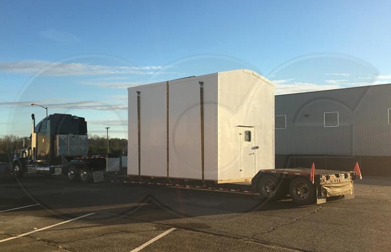 Modular Fiberglass Shelters - Buildings