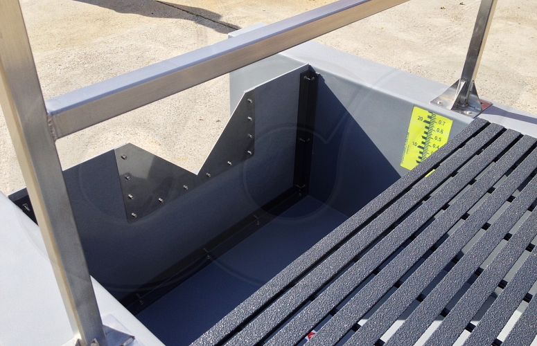 Weir Channels For Flow Measurement