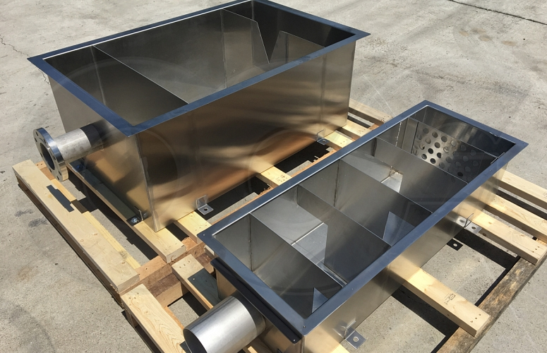 Weir Boxes For Flow Measurement